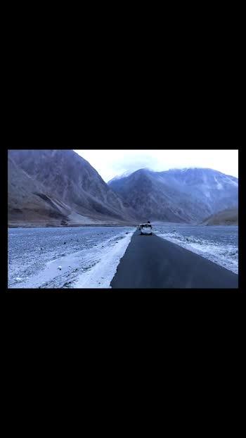 lek ladakh - paradise on earth #paradise #leh #ladakh #ladakhtourism #travel #roadtrip #longdrive #trending #viralvideo #trendingvideo #journey #highway #indian