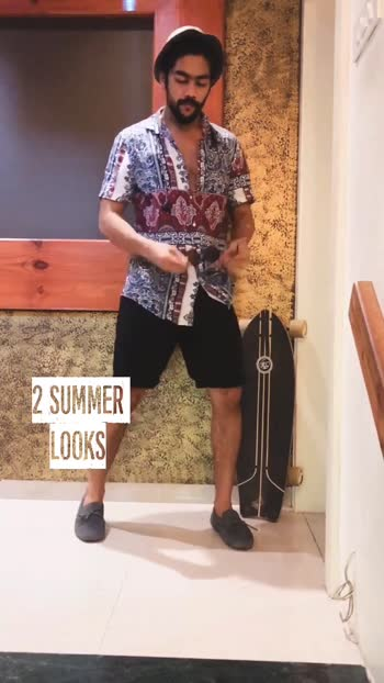 SUMMER LOOKS for more check my Instagram @sidpatill