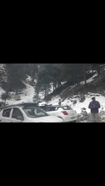 #shimla  #kufri #hills #hillstation #snow #snowfall #weather #foresthills #forests #travelling #roadtrip #views