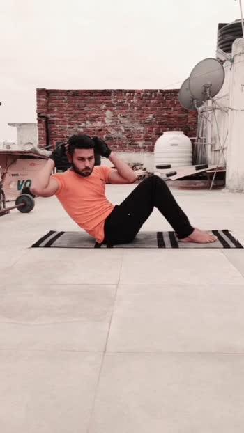 abs workout #absworkout #sixpackabs #exercise #hahatvchannel #roposostar #risingstar #gabruchannel #kabirsingh #lookgoodfeelgood