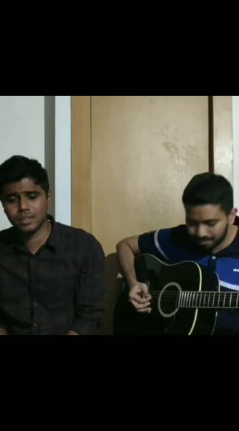 Covers with the Cousin! . . This one's an acoustic cover by one of my favorite bands 'Wasted Years' by @ironmaiden ! . .  #ironmaiden #wastedyears #nwobhm #acousticnation #acousticcover #oneminutecover #oneminutecovers #uptheirons #punemusicians #instagramcover #cousins #granadaguitars #goanmusicians #acousticnation #acousticcover #lockdown #roposostar #risingstar  #roposo