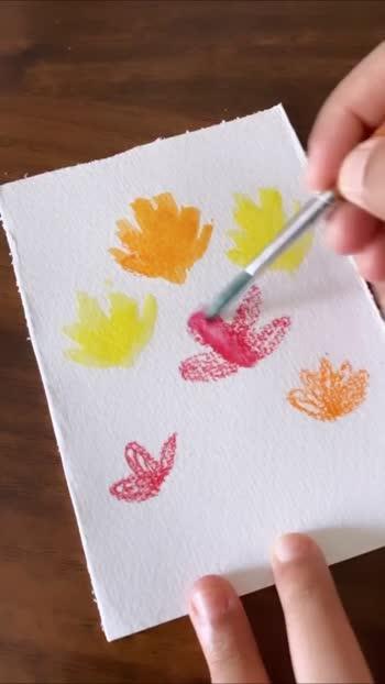 Watercolor 💐 #flower #watercolour #watercolor