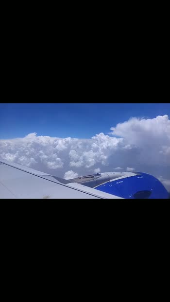 #freshair #bluesky #cleanindia #clearsky #wow #wow-nice-view #wows #wowvideo #wowtv #lovelyviews #flighttime #naturepgotography