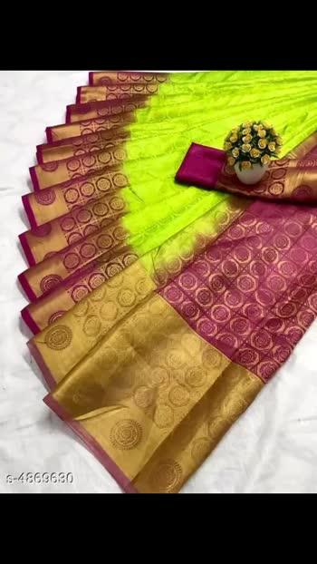 950 Only Elegent Belaton Silk Women's Sarees Saree Fabric: Belaton Silk Blouse: Running Blouse Blouse Fabric: Cotton Silk Pattern: Embellished Multipack: Single