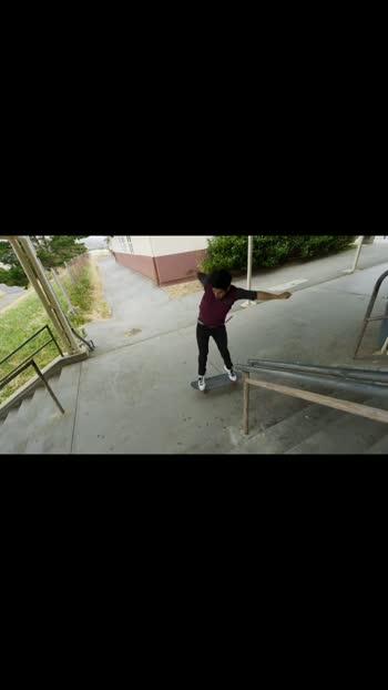 Skateboarding style