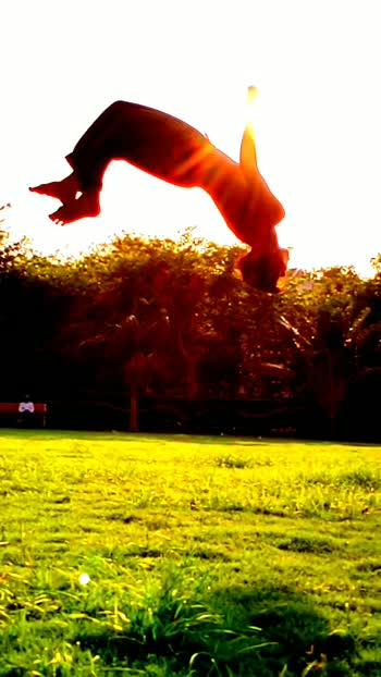 round of egail flip tumbling style#stunt #fitneeslove