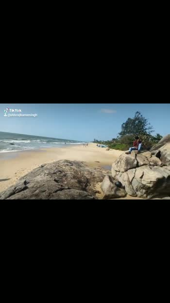 😍Surathkal beach🚣 #mangalore #mangalorediaries #roposobeauty #beach #beachlove #beachlover