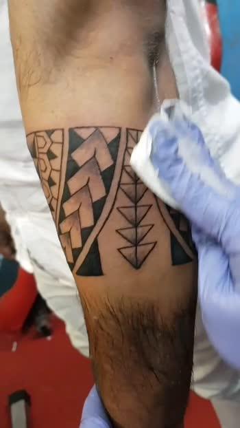 Tattoo Galaxy Studio Hubli #tattoo-lover #bandtattoo #tattooboy