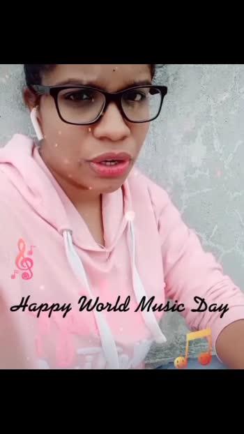 Happy World Music Day 🎈🎉🎈😍 #roposostar #ropososinging #ropososingingstars #ropososinger #singingstar #singinglove #singingstars #singingdiaries #musicaddicted #telugusingers #telugu-roposo #indiansingers #indiansinging #instasingers #instasinging
