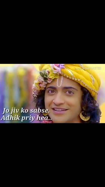 #radha-krishna_love_song_ #radhaneshyammalijase #sunnydays  #likeandfollowmeonroposo ####