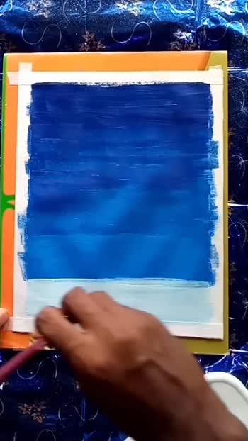 #night penting watercolor#ice penting watercolor