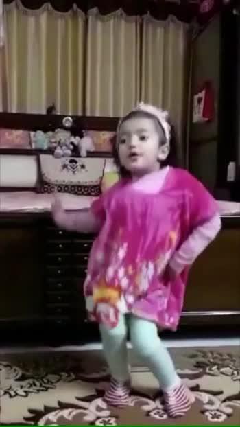 #tu_ankhiyaan_mila_ke_mere_kol_aaja....... #littlegirl  #beautifuldance #roposolove