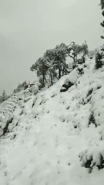 #snowing