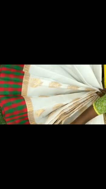 #saree  #fashion #love #fashionblogger #traditionalsaree #kerala #silk #silksaree