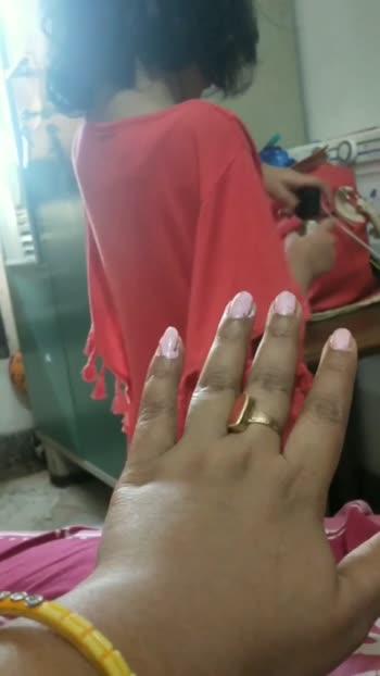 manicure by mu daughter