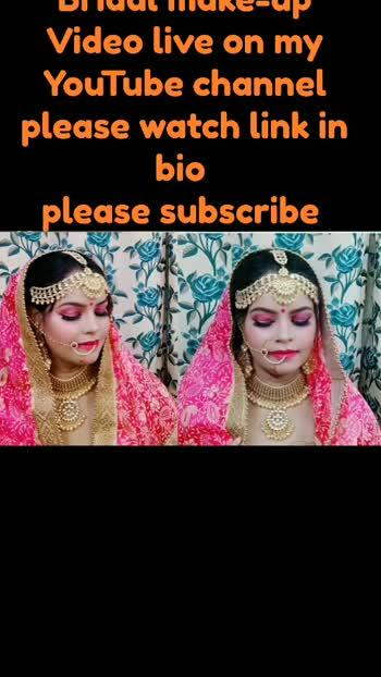 long lasting bridal makeup do at home  #bridalmakeup #longlasting #foru #foryou #foryoupage #foryourpage #youtubecreators #pleasefollow #trending