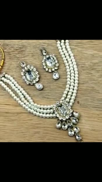 *Catalog Name:* Charming Crystal Choker Necklace Sets ⚡⚡ Quantity: Only 7 units available⚡⚡ *Details:* Description: It has 1 Necklace, 1 Pair of Earring Material: Alloy Size: One Size Work: Crystal, Stones, Pearls Get a Surprise gift in every single order Designs: 6 💥 *FREE Shipping*  💥 *FREE COD* 💥 *FREE Return & 100% Refund* 🚚 *Delivery:* Within 7 days Buy online: https://www.myownshop.in/Smartshop224/catalogues/charming-crystal-choker-necklace-sets/4694278493?af0oav #fashion #fashionblogger #fashionjewellery #jwellerycollection #jwellarylove #jwelleries #style #necklace