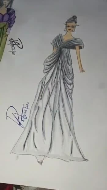 #sketchinglove  #designerwear  #gownstyle #drapeastory