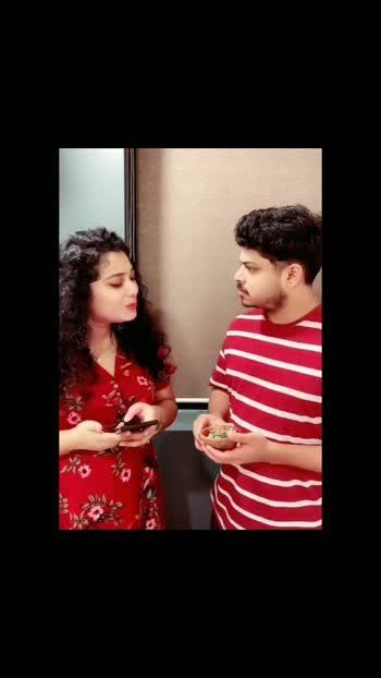 couple comedy #roposo  #featureme #featurethisvideo #comedyvideo #couplecomedy #couplevideos #tarinari