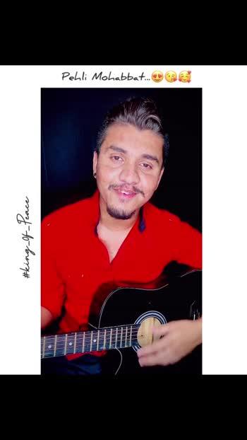 PehliMohabbat🥰#unplugged#music#guitar#guitarist#pehlimohabbat#musician#love#musicislife#voiceover#darshanravaldz#indiansinger