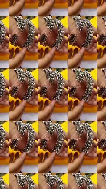 #jwellerycollection #jewellery #jwellery #earrings #oxidized #oxidisedjewellery #punjabi #trendy #trendingvideo #duet #roposostar #roposo #jwelleries contact st 9711395926