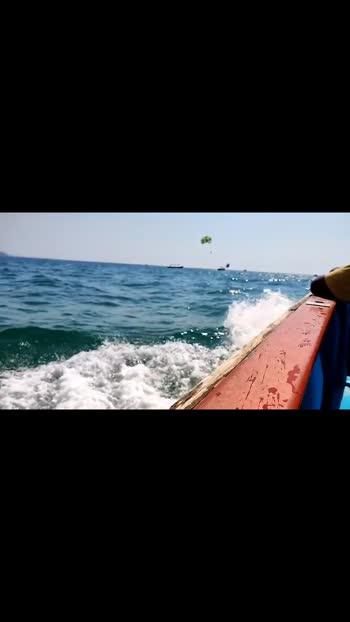Goa Diaries....  #calangute #beach #goa #sea #boatride
