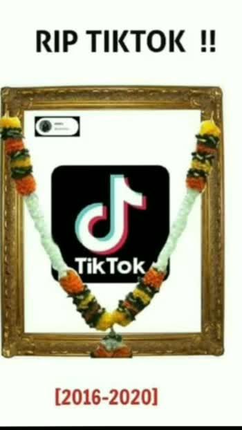 Rip Tictok #tictokindia  #tictok
