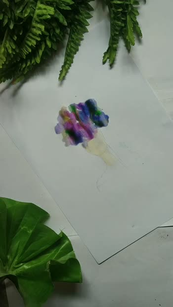 Easy abstract art #diy  #abstract