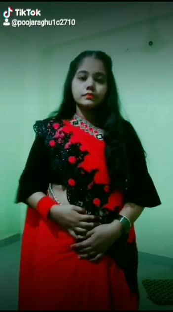Red Saree 💗