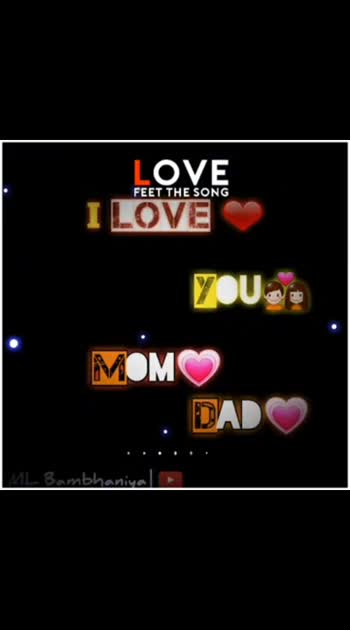 #love_you #mom_dad