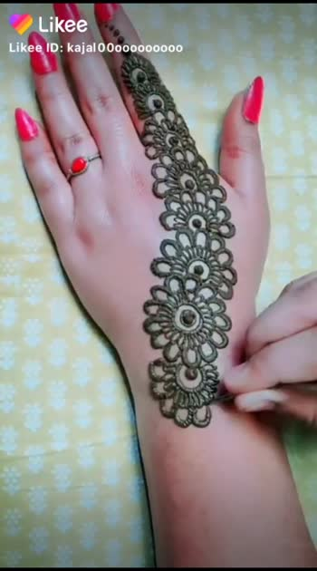 # beautiful mehandi design# Anu#