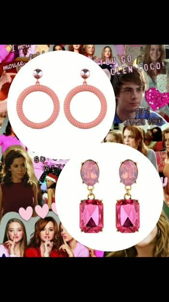Calling all Pinkaholics 💗🎀♀️ Swipe for more... #onwednesdayswewearpink   www.theredbox.co.in . . . . . . #theredbox #meangirls #meangirlsedit #meangirlsday #lindsaylohan #rachelmcadams #amandaseyfried #laceychabert #lizzycaplan #pinklove #pinkpinkpink #pinkearrings #pinkjewelry #meangirlsmovie #pinkvibes #thatssofetch