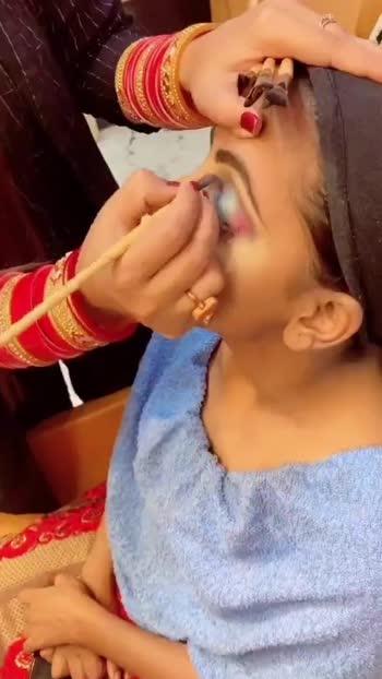 Bridal makeup #makeup