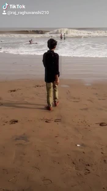 #raj_raghuvanshi210 #like #comment #ropsostar #dariyo #beachlover