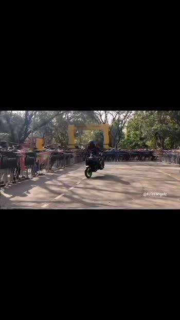 #stuntrider#krissangelz#kerala#keralastuntrider