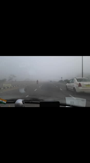 Cruising on highway