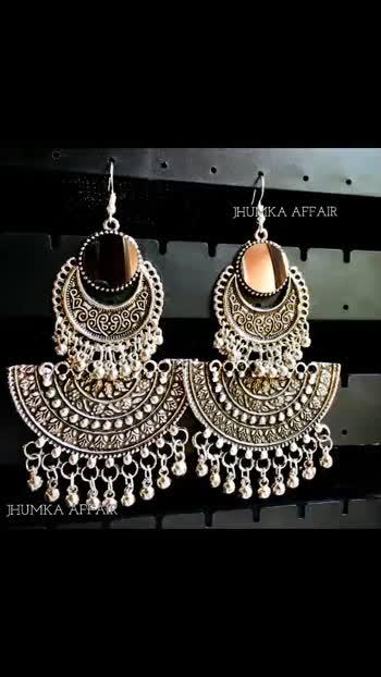 ✔️Whatsapp/Dm to book your order -  8826476068 ✔️Shipping worldwide ✔️2-3 Days Dispatch ✔️Delivery within 3-6Working days @jhumkaaffair  #jhumkaaffair #jewellerytrends#jewellerylover#jewellery_blog#jewellerydesign#jewellery#jewellerygoals#necklaces#necklace#kundanjewellery#kundanjewelry#kundannecklace#earringswag#earringsoftheday#earringsogood#ring#crystalnecklace#oxidized#oxidisedstuds#earstuds#oxidisedcombo#choker#germansilverjewellery#germansilver#gsjewellery #oxidisedjhumka#oxidizedjhumka#earrings#oxidisedjewellery#oxidizejewellery