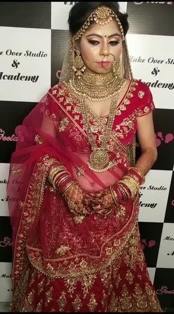 #bridalmakeup #geetaUpreti #bestmakeupartist #indianmakeup                  #beautyfulbride