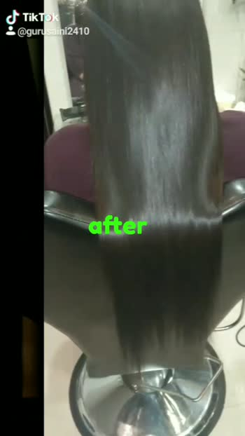 hair smoothning awesome results