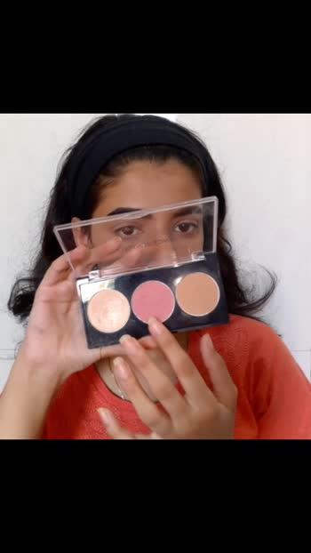 Fresh Summer Glow #makeup #fashion #roposo