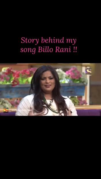 Billo Rani ! #storybehindmysong #richasharmaoffical #richasharma kapilsharma