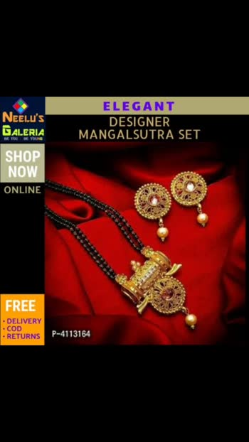 Elegant Designer Alloy Meena Mangalsutra Set  *Color*: Multicoloured  *Material*: Alloy  *Stone Type*: American Diamond  *Delivery*: Within 6-8 business days  *Returns*:  Within 7 days of delivery. No questions asked  https://myshopprime.com/collections/312325234  #fashion #fashionista #jewel #jewellery