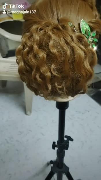 #hairstyel #haircurl #hairart #hair accessories