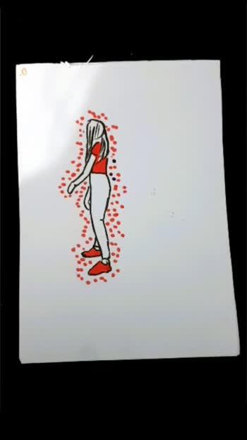 #artist #artistonroposo #roposo #dance #sketch