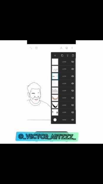 arjun kapikad 🖤 #vectorart #arjunkapikad #justatry🌸