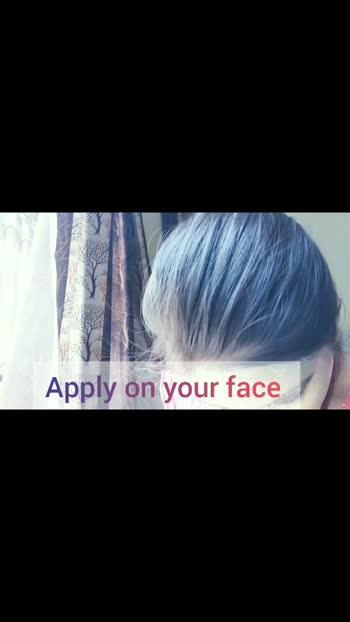 summer face mask part 2 #facemask #summerskincare