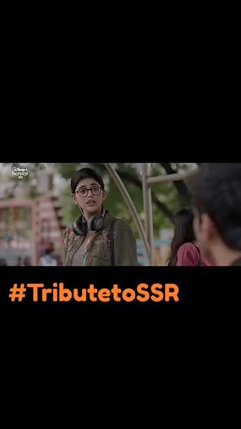 #Dilbechara #tributetosushantsinghrajput #greatactor #sanjanasanghirocks  😍😍😍##