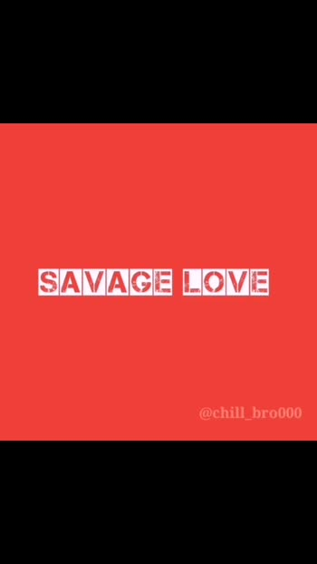 follow for more videos 🙏🙏 & we are on instagram too @chill_bro000  #savagelove #englishsong #english #status #follow #music #bgm #musiclovers #englishtracks #englishmusic #roposo #bantiktok #love #angrybirds #savagelovesong