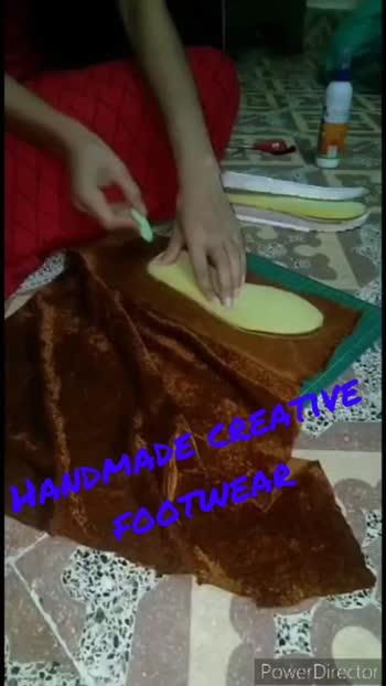#roposo#creativity#handmadefootwear#fashionshoes#foryou#foryoupage#trending#fyp#