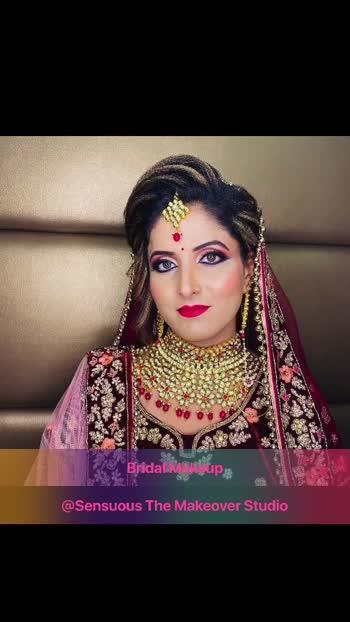 #roposostar #indianbride #indianbridalmakeup #sensuousthemakeoverstudio #roposobeauty